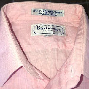 "Burberry Mens Dress Shirt 15""/39"